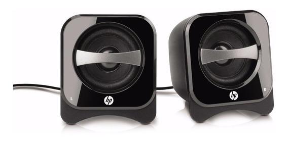 Caixa De Som Hp Compact 2.0 Speakers * Br387aa *
