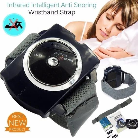 Relógio Inteligente Anti Ronco Snore Stopper
