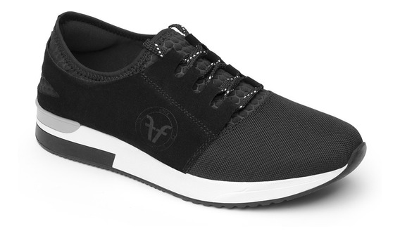 Sneaker Flexi Dama 37701 Negro