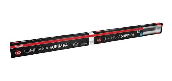 Luminária Led Supimpa 2x18w Bivolt Avant