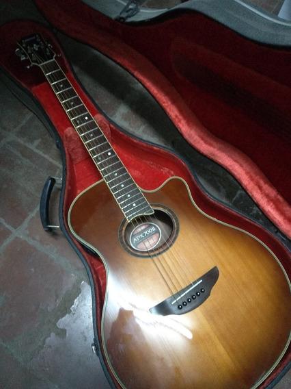 Guitarra Electroacústica Yamaha Apx-700ii Con Estuche Rígido