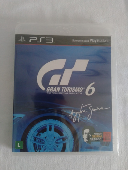 Gran Turismo 6 - Ps3 - Lacrado - Playstation 3