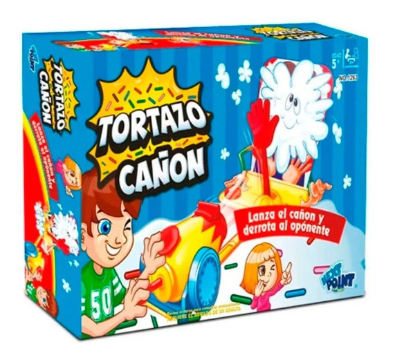 Tortazo Cañonazo Juego Pastelazo De Mesa Infantil Original
