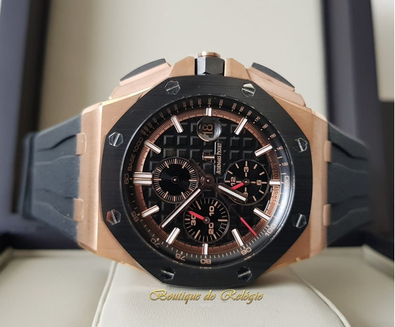 Relógio Eta - Modelo Roo Chronograph Gold - 44mm