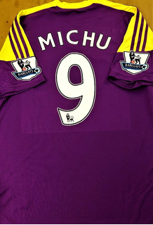 Camisa Do Swansea City 2013/14 Premier League Completa