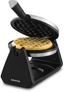 Gourmia Acero Inoxidable Waffle Makerrápido Y Fácil De