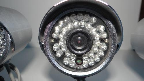 Camera De Seguranca 36lds Interno E Externo Sony Kit 4 Unid