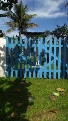 Casa Com 2 Dormitórios Para Alugar Por R$ 300/dia - Jardim Rafael - Bertioga/sp - Ca0232