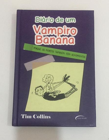 Livro Diário De Um Vampiro Banana