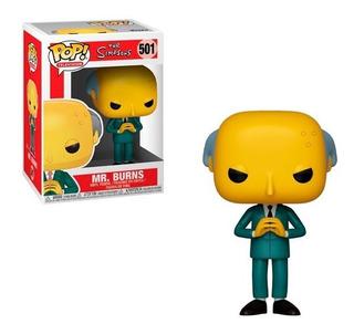 Funko Pop Mr Burns 501 The Simpsons Figura Original Educando