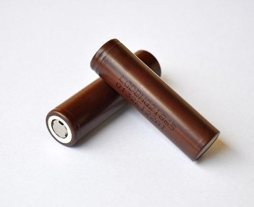 2 Baterias Lg Hg2 18650 3000mah 20a Alta Drenagem Vap