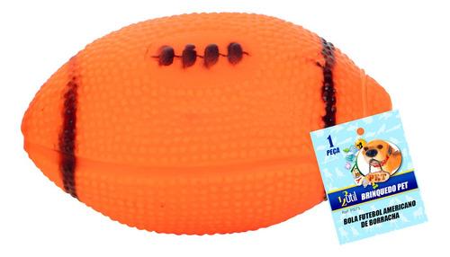 Brinquedo Caes Interativo Futebol Americano Cachorro Sonoro