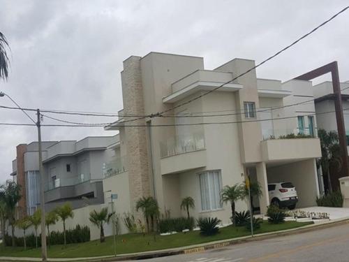 Excelente Sobrado Com 4 Dormitórios À Venda, 396 M² Por R$ 1.850.000 - Condomínio Ibiti Royal Park - Sorocaba/sp. - So0146 - 67640226