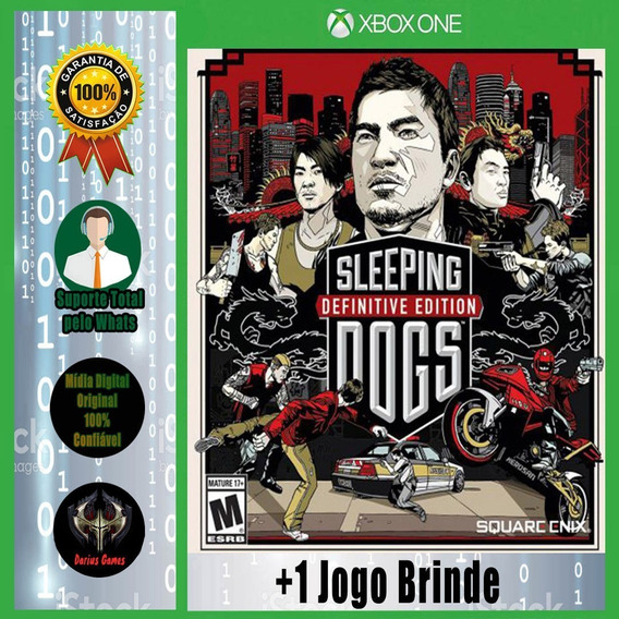 Sleeping Dogs Definitive Ed. Xbox One Mídia Digital +1 Jogo