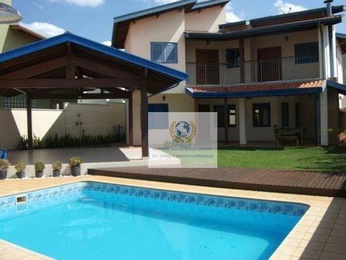 Casa Com 4 Dormitórios À Venda, 325 M² Por R$ 1.590.000,00 - Residencial Barão Do Café - Campinas/sp - Ca0771