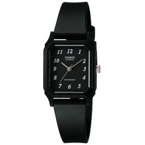 Reloj Mujer Casio Lq-142-1b Analogo Negro / Lhua Store
