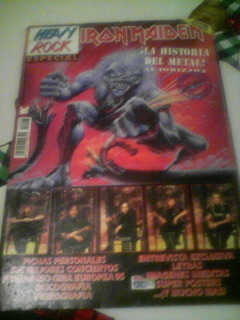 Revista Heavy Rock Edicion Especial Iron Maiden