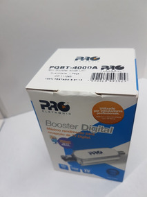Booster Antena Tv Digital Hdtv 40db Proeletronic Buster
