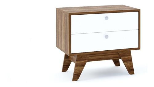 Imagen 1 de 4 de Mueble Buro Con 2 Cajones, Ideal Para Recamara Y Sala Rubu2c