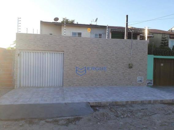 Casa Com 2 Dormitórios À Venda, 100 M² Por R$ 399.999,99 - Maraponga - Fortaleza/ce - Ca0735