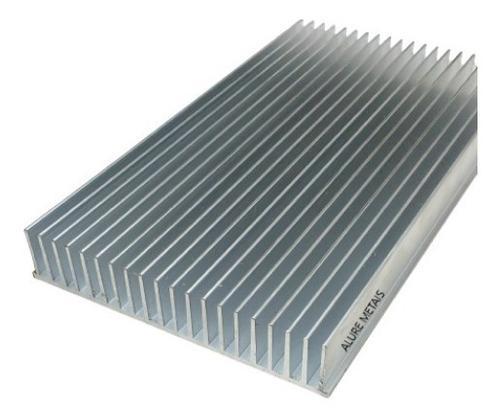 Imagem 1 de 4 de Perfil Aluminio Dissipador Calor 17,2cm Largura C/ 24cm