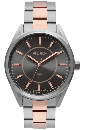 Relógio Euro Feminino Eu2035yqb/5c Misto