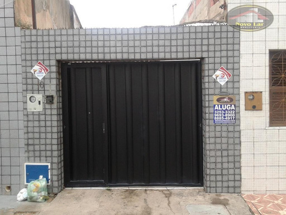 Casa Com 2 Dormitórios Para Alugar, 72 M² Por R$ 1.000,00/mês - Benfica - Fortaleza/ce - Ca0150