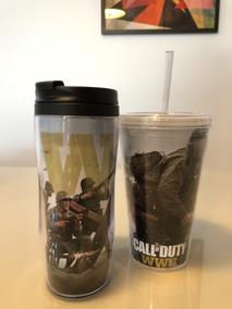 Copo / Garrafa Call Of Duty - Geek / Gamer