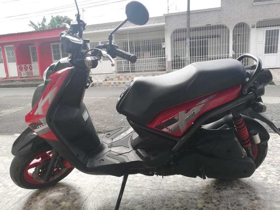 Yamaha Bws 125 Roja