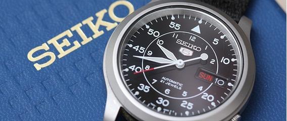 Seiko 5 Militar Preto, Com Película E Pulseira Adic. Nato
