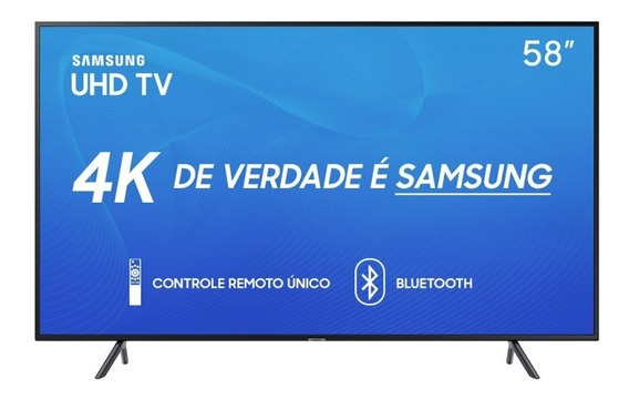 Smart Tv Samsung 58 Uhd 4k 2019 Un58ru7100gxzd Visual Livr