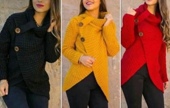 Sweaters Lana Varios Colores