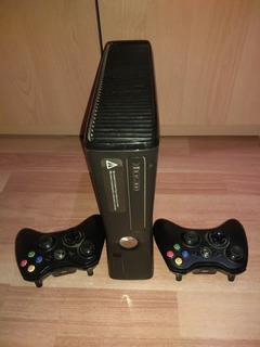 Xbox 360 + Kinect + 2 Jostick + Hdd+ Juegos