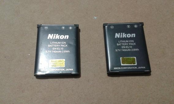 Bateria Nikon En-el 10 Usada 100% Funcional Varias
