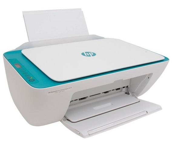 Impressora Multifuncional Hp 2676 Colorida Wi-fi Jato Tinta