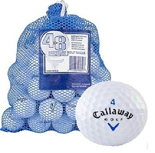 Reciclado De Grado B De Callaway Golf Bolas (pack-48)
