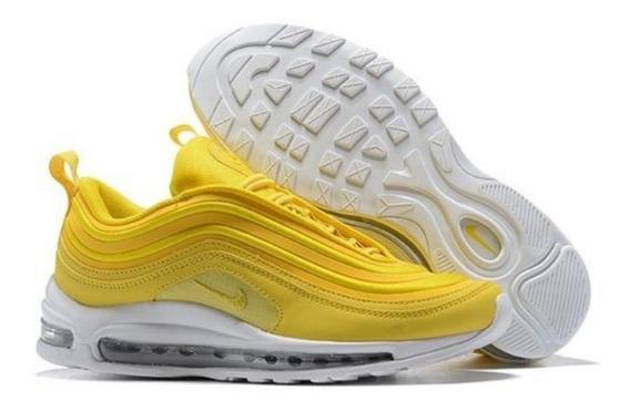 barato Nike Air Max 97 Amarillos Tenis de Mujer Nike 22.5 en ...