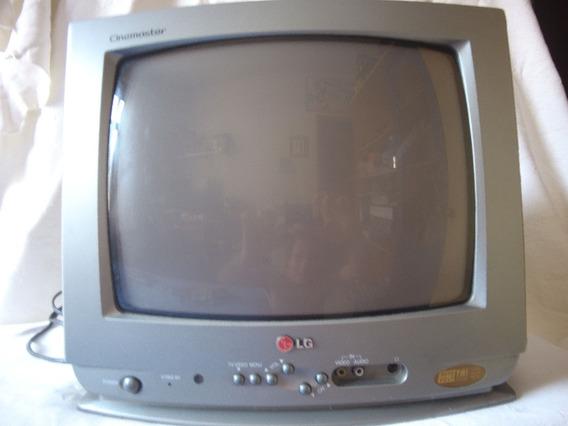Tv Lg 14 Polegadas Cinemaster Leia Descrição