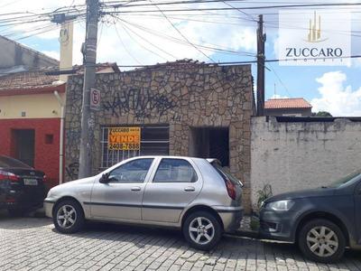 Ótimo Terreno De 215 M² Com Casa Antiga Com 2 Dormitórios À Venda, Por R$ 329.000 - Ponte Grande - Guarulhos/sp - Ca3432