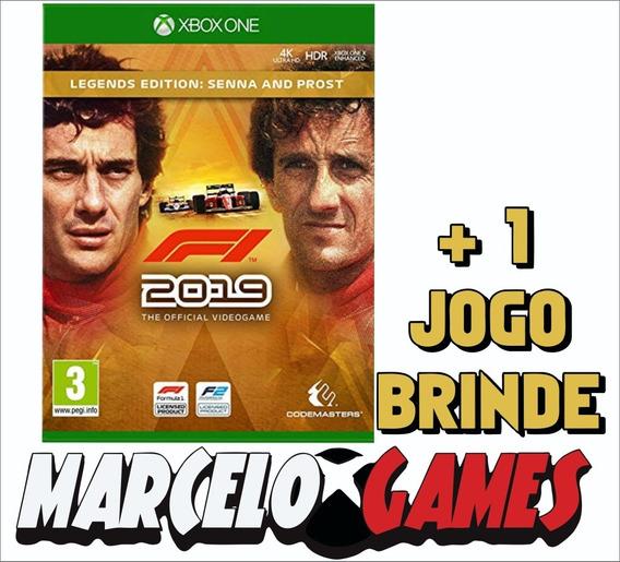 F1 2019 Legends Edition Xbox One Midia Digital