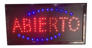 Carteles Led Luminosos Abierto 220 V - Sertel Shop