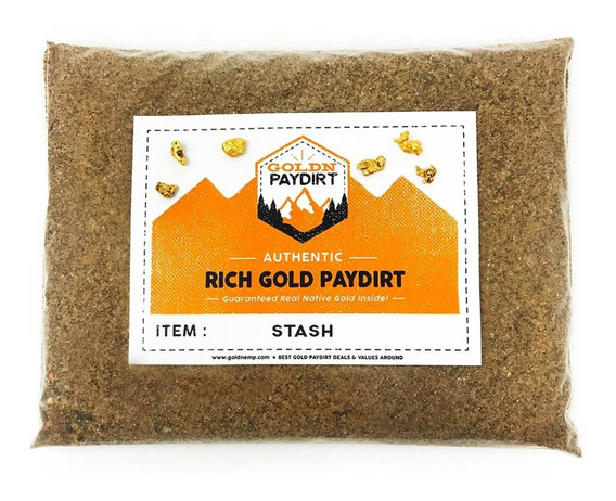 2 /'HOARD/' /& 2 /'BEHEMOTH/' GOLD Panning Paydirt BUNDLE BAGS Best PAYDIRT COMBINED