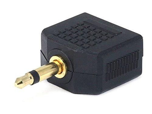Imagen 1 de 3 de Monoprice 107202 Conector Mono De 35 Mm A 2 X 35 Mm Adaptado