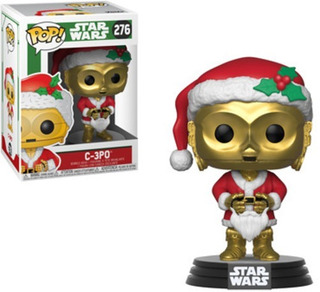 Funko Pop Star Wars Holiday C-3po As Santa