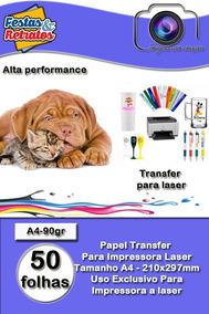 Papel Transfer P/laser A4 C/100fl