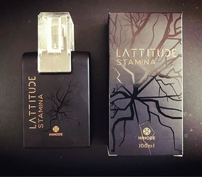 Lançamento Perfume Masculino Latitude Stamina