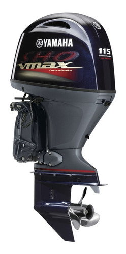 Imagem 1 de 10 de  Motor De Popa Yamaha Vf115 La Sho Vmax 4 Tempos
