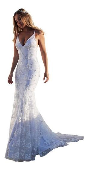 Vestido De Novia / Fiesta Hermosa Importada ! Yl 880