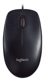 Mouse Logitech M90 Conexion Usb Simple Y Eficaz