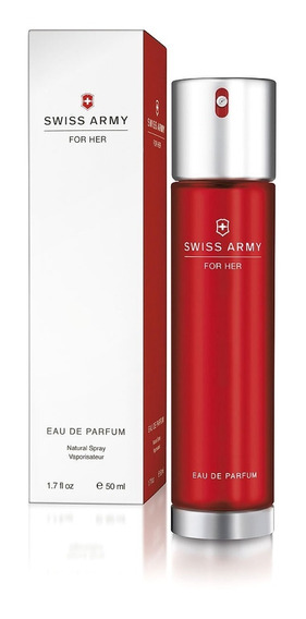 Perfume Swiss Army For Her Eau De Parfum 50ml - Sem Celofane